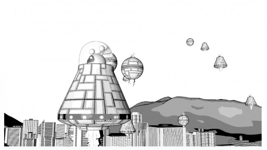 URBANA PLAZA  - animación 3D