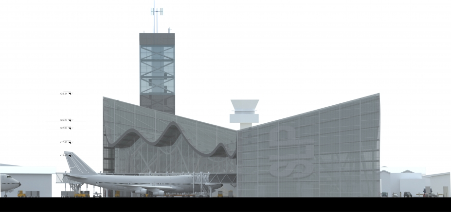 Terminal 2 del Aeropuerto Internacional de San Luis Potosí.