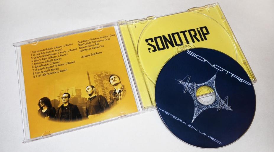 Diseño de Arte y Logo para banda Sonotrip.