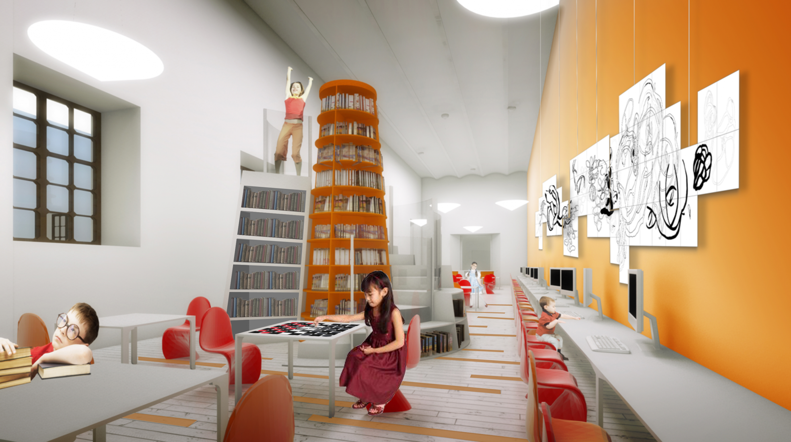 39 Biblioteca Infantil Ciudadela 39 Por Pabellon De