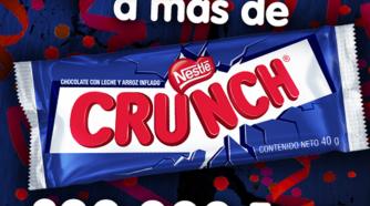 Arte para 200,000 Fans en Facebook para Crunch