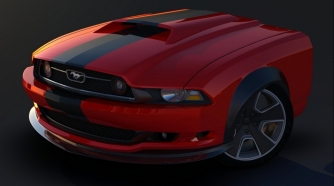 Work in Progress - Mustang Concepto
